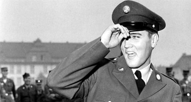 Calling Elvis: When the King came home from the army